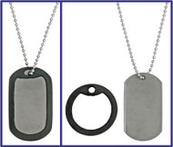 The Original Titanium Dog Tag Knife