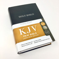 KJV LARGE PRINT Bible (Hardcover, Red Letter Edition)