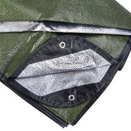 SPACE Brand All Weather Emergency Blanket (OD Green)