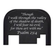 Bastion PSALM 23:4 GLOCK Slide Plate (Gen 1-4)