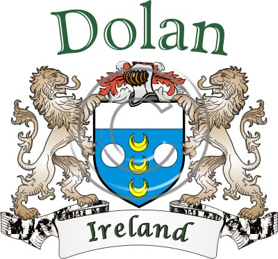 Dolan Name History Coat Of Arms