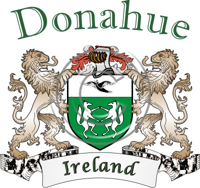 Donahue Name History Coat Of Arms