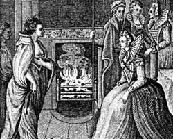 Queen Elizabeth meets Grace O'Malley, the Pirate Queen of Connacht