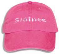 Irish Sláinte Cap in Pink