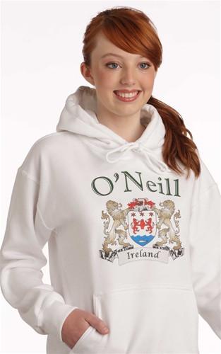 Irish Coat of Arms Hooded Sweatshirt | Irish Rose Gifts