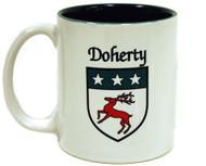 Irish Coat of Arms Mug two tone | Irish Rose Gifts