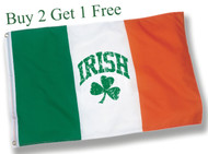 Irish Shamrock Flag - Size - 2' x 3' foot