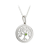 Tree of Life Necklace - Sterling Silver