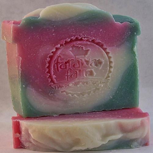 Candy Cane Lotsa Lather Soap