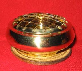 Brass Charcoal Censer Burner