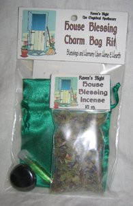 House Blessing Charm Bag Spell Kit
