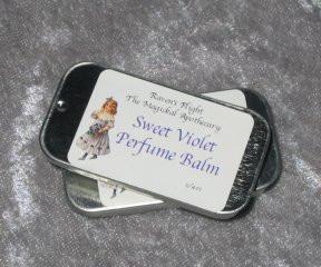 Sweet Violet Perfume Balm