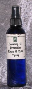 Cleansing & Protection Room & Body Spray Mist 4 oz