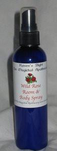 Wild Rose Room & Body Mist 4 oz