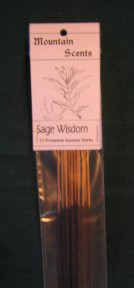 Sage Wisdom Mountain Scents Premium Incense Sticks