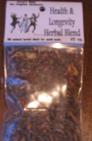 Health & Longevity Magickal Herb Blend 1/2 oz