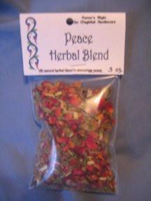 Peace Magickal Herb Blend 1/2 oz