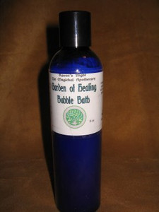 Garden of Healing Bubble Bath & Body Wash 8 oz