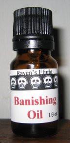 Banishing Magickal Oil Blend