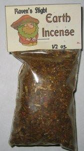 Earth Elemental Charcoal Incense 1/2 oz bag