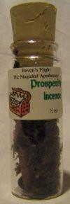 Prosperity Charcoal Incense 1/2 oz vial