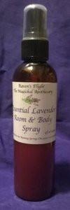 Essential Lavender Room & Body Spray 4 oz