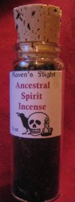 Ancestral Spirit Charcoal Incense 1/2 oz Corked Vial