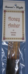Honey Amber Premium Incense Sticks