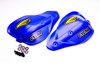 Cycra Classic Enduro Shields Shield Color: Blue Shields and Black Hardware