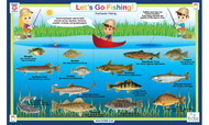 Let's Go: Fishing Placemat