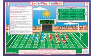 Let's Play:  Football Placemat
