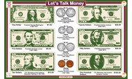 Let's Talk: Money Placemat