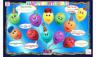 Happy Birthday! Placemat