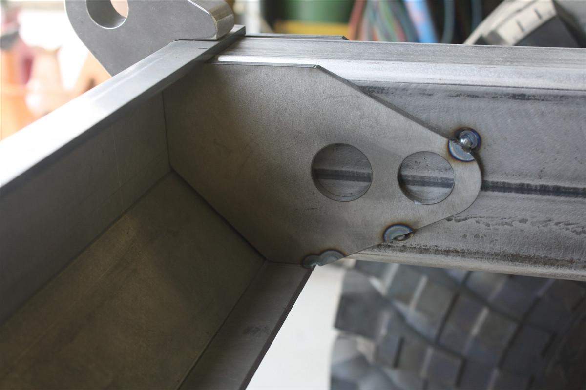 Jeep Yj Rear Frame Back Half Quot Complete Quot Kit W Rear Bumper