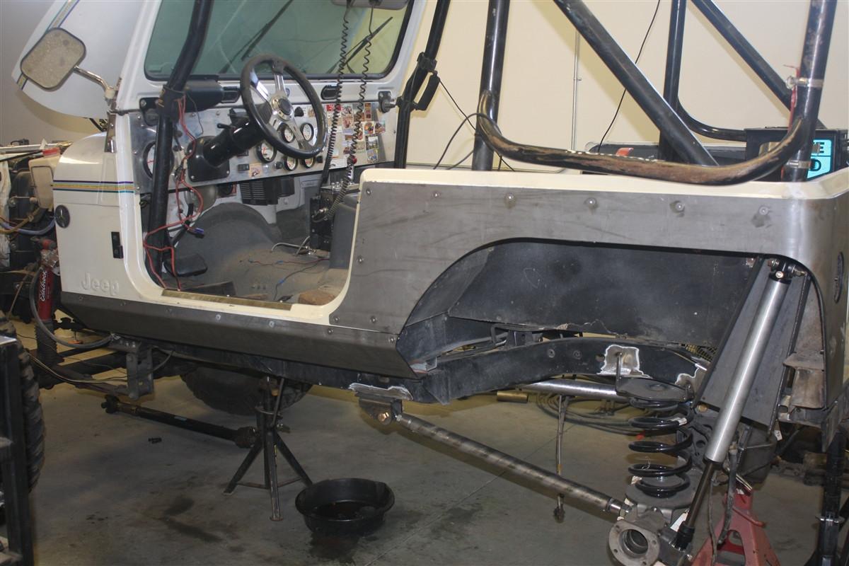Jeep Cj And Yj Boatside Rocker Panels