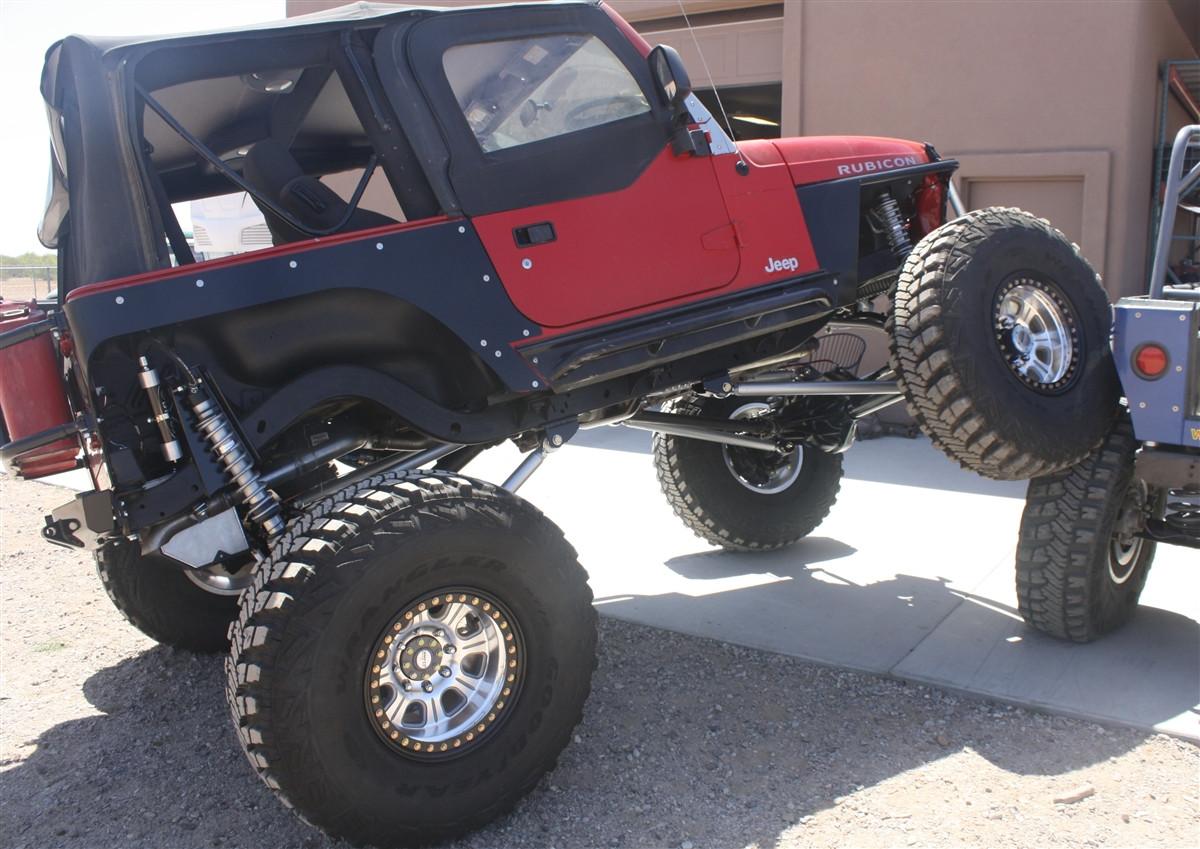 Jeep Tj Amp Yj Comp Cut Rear Corners