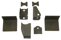 Universal Johnny Joint Style Front 3-Link Conversion Brackets