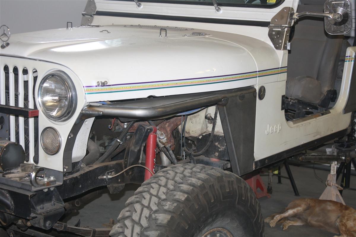 Jeep Cj Tube Fenders