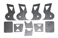 Heavy Duty Dana 60 Front Lower Link Mounts with Bump Stop Pads