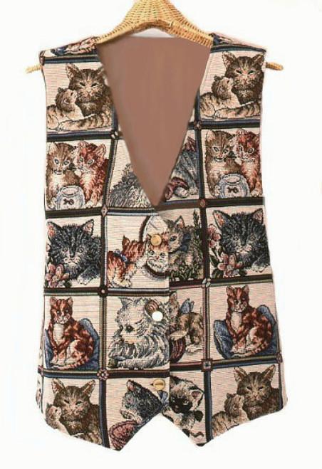 Playful Cats Vest