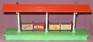 156 Platform Station; Baby Ruth, Rival, Lionel Construction & Baby Ruth (6+)