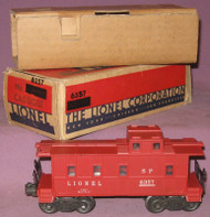 6357 Lionel Caboose: Over-Stamped Box (7+/OB)