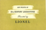 1950 Art Prints of 19th Century Locomotives (8+)