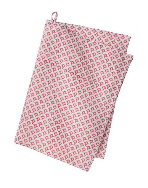 Colorful Cotton Kitchen Towel - Meena - Rose