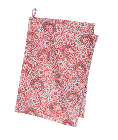 Colorful Cotton Kitchen Towel - Madura - Rose