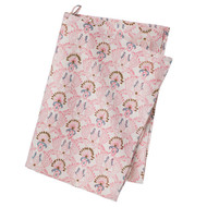 Colorful Cotton Kitchen Towel - Diya - Rose