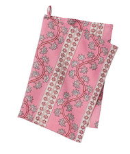 Colorful Cotton Kitchen Towel - Orchid - Pink