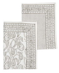 Kitchen Towel - Amrita - Grey - Set of 2