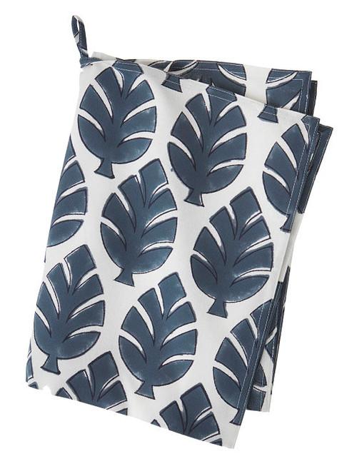 Scandinavian kitchen towel - Neem Mega - Dusty Blue - Cotton