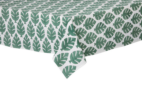 """Tablecloth - Neem Mega - Pine - 59""""x 98"""" from bungalow in Denmark."""